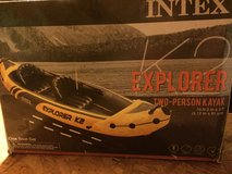 NIB Intex Explorer K2 2-person kayak in Fort Polk, Louisiana