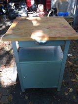 Small wood Top work Cabinet in Ramstein, Germany