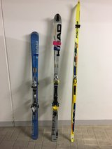 Ski season coming soon! Three pair skis in Wiesbaden in Wiesbaden, GE