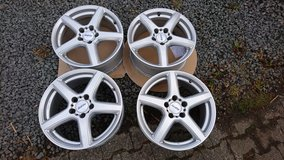 Nearly new 17Inch Alloy rims Mercedes etc in Spangdahlem, Germany