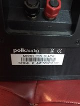Polk Audio T15 bookshelf speakers in Fort Leonard Wood, Missouri