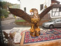 """""""American"""" Eagle handcarved, large in Ramstein, Germany"""
