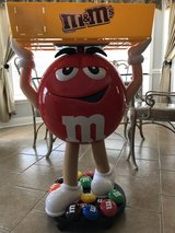 M&M Character Candy Store Display With Tray in Warner Robins, Georgia