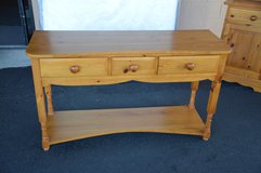 Solid Pine Sofa Table in Fort Lewis, Washington