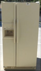 22 CU. KENMORE SIDE-BY-SIDE REFRIGERATOR- ALMOND in San Diego, California