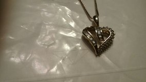 Pure Gold with Real Diamonds pennant heart only pd over $400 in Tinker AFB, Oklahoma