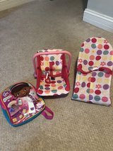 Baby doll carriers and toddler backpack in Naperville, Illinois