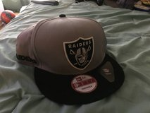 Raider hat in Miramar, California