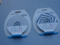 TWO NEW 10 PACK OF MEMOREX CDR DISCS in Batavia, Illinois