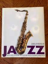 "LARGE ""JAZZ""  COFFEE TABLE BOOK in Naperville, Illinois"