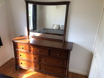 Ashley Hardwood Dresser/mirror combo in Okinawa, Japan