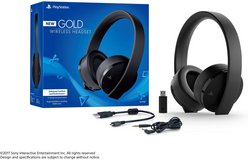 PlayStation Gold Wireless Headset - PlayStation 4 in Alamogordo, New Mexico