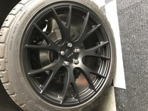 """20"""" Dodge AWD Charger/ AWD Challenger Wheels and Tires in Lockport, Illinois"""