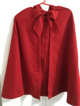 Red hooded cape in Eglin AFB, Florida