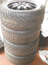 4x 295/45R20 General on rims Bolt-pat.= jap SUV 5x114BP offset 35 in Ramstein, Germany