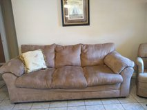 Simmons Microfiber Couch in Fort Campbell, Kentucky