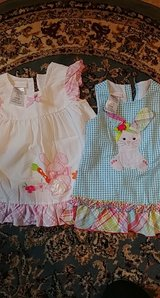 lot of two bonnie baby brand easter dresses for toddler 24 months in Spring, Texas