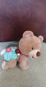 vtech learn to crawl talking teddy bear infant learning toy in Spring, Texas