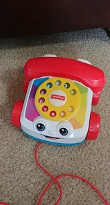 fisher price vintage replica rotary phone infant toddler toy in Spring, Texas