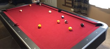 7.5 ft Combo PoolTable/Ping Pong in Sugar Grove, Illinois