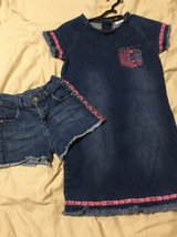 Girls denim set (8-9) in Okinawa, Japan