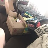 2 big boxes of baby girl size 3-9month assorted in Nellis AFB, Nevada