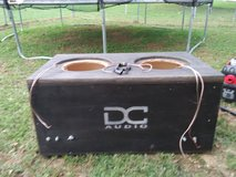 "DC Audio 12"" Dual Subwoofer Custom Box in Fort Leonard Wood, Missouri"