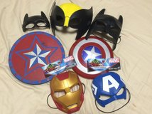 Super hero masks in Okinawa, Japan