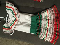 Girls Mexican dresses in 29 Palms, California