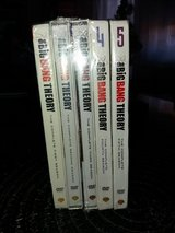 "NEW DVD TV Series "" The Big Bang Theory "" Complete Season 1-5 in Ramstein, Germany"