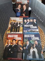 "DVD TV Series "" Boston Legal "" Complete Season 1-5 in Ramstein, Germany"