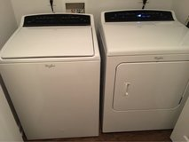 Whirlpool washer and dryer in Lackland AFB, Texas