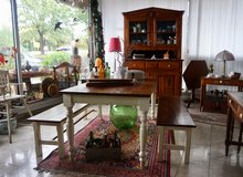 New shipment of antiques arrived at Angel Antiques in Ramstein, Germany