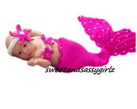 Crochet Mermaid Outfit in Spring, Texas