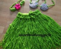 Crochet Hula Outfit in Spring, Texas