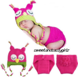 Crochet Sleepy Owl Outfit in Spring, Texas