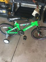 bike with training wheels in Joliet, Illinois
