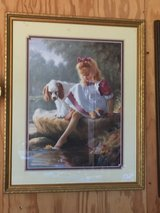 "Girl with her Dog Picture. 211/2"" x 171/2"". in Elizabethtown, Kentucky"
