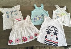 5 Size 4/4T Tops from Gymboree in Quantico, Virginia