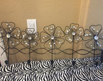 Wire wall decor with hooks in Vacaville, California