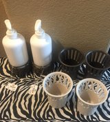 Candle holder and soap or lotion dispenser in Vacaville, California