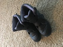 Winter boots in Chicago, Illinois