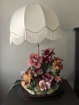 Capodimonte lampshade (made in Italy) in Nellis AFB, Nevada