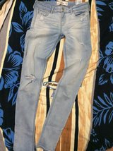 Hollister skinny jeans in Okinawa, Japan