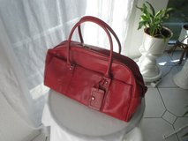 stylish red travel / city bag in Ramstein, Germany