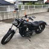 2017 Harley Street Bob in Okinawa, Japan