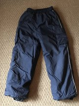 Boy's size med navy blue snow pants in Naperville, Illinois