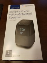 Insignia Voice Activated Speaker with Google Assistant in Schaumburg, Illinois