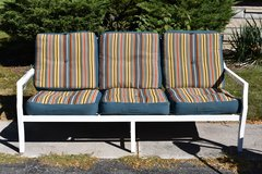 Outdoor Couch with Cushions in New Lenox, Illinois