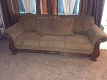 Sofa and love seat in Barstow, California